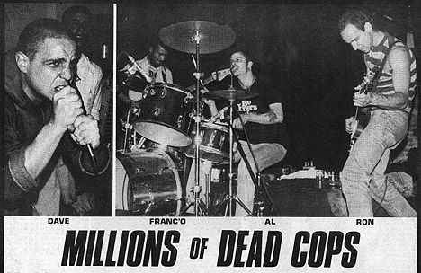 BACK TO 1982: MILLIONS OF DEAD COPS